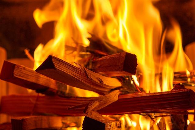 Heizlüfter-Feuer
